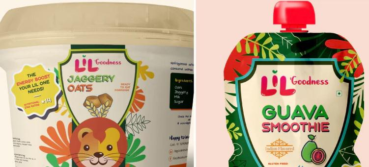 Lil' Goodness provides nutritional snacks to children