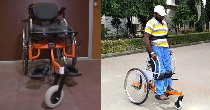 IIT engineers make Standing Wheelchair 'Arise'