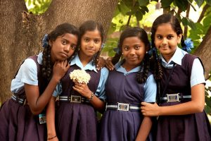 School students take pledge not to mistreat girls in Delhi
