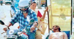 NGO uses bike ambulance and provides shelter to homeless