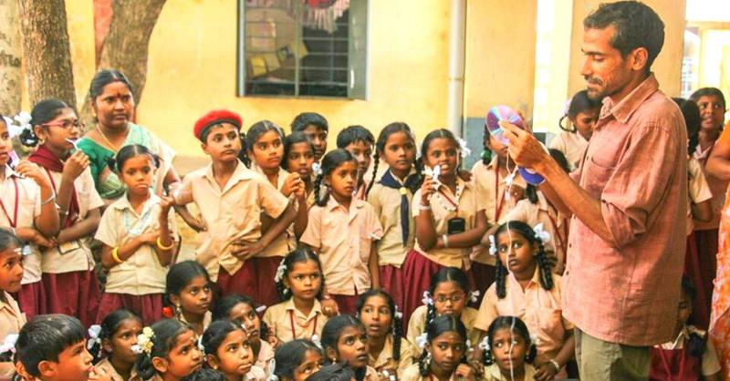 IITian teaches upcycled toys to students