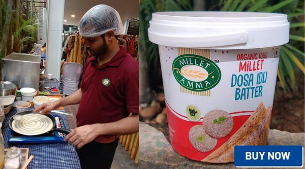 Millet Amma flavors south Indian twist to millets