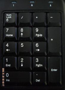 Ways to get numeric keypad