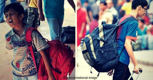 Gujarat principal's idea to reduces school bag weight