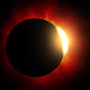 Solar eclipse and Ring of Fire