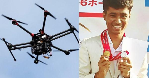 22-year-old builds drones from e-Waste