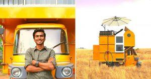 Caravan with kitchen, bed and toilet