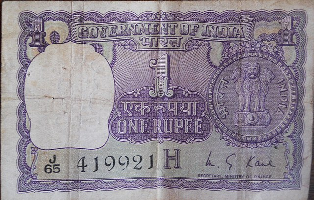 Facts about new one-rupee currency note