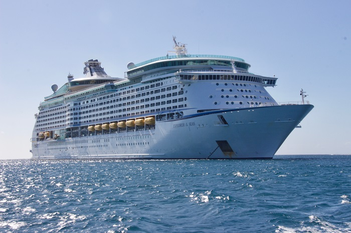 Cruise ships of corona hit nations not allowed to India
