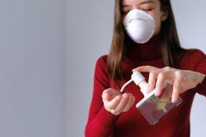 DIY hand sanitizer and masks