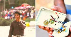 Life-saving device by a high school dropout