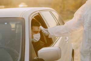 Drive-Through kiosks for coronavirus testing in India