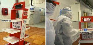 Nightingale-19 Robot helps doctors treat COVID-19 patients
