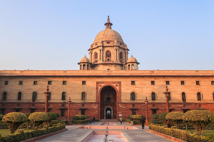 Many families are put in self-isolation in Rashtrapati Bhavan