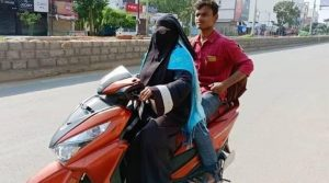 Woman rides 1400 km on Scooty to bring back son