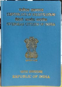 Certain categories of OCI cardholders are allowed to India