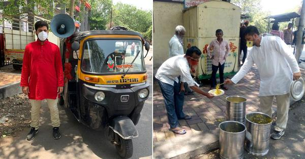 Auto driver feeds 400 people daily