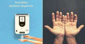 OakMist - A Hands-free mist sanitizer