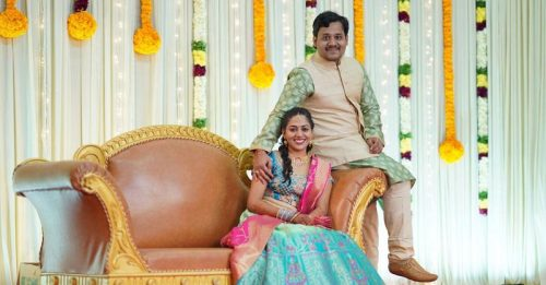 Chennai man performed eco-friendly wedding