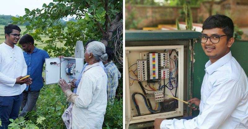 Electric Shock proof device to save farmers