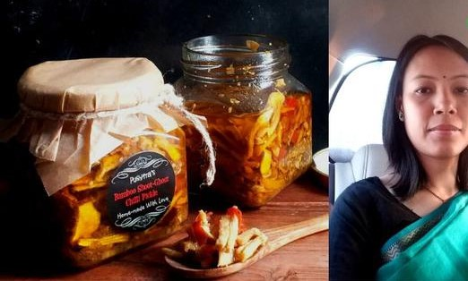Breast cancer survivor sells bamboo shoot pickle