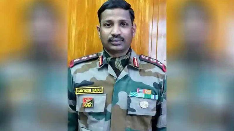 Know about Martyr Colonel Santosh Babu