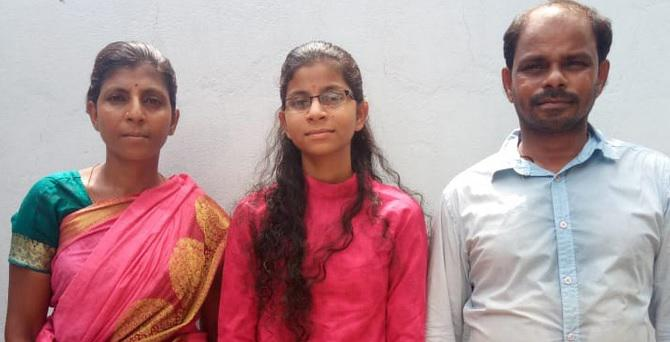 Street vendor's daughter excels in Intermediate exam