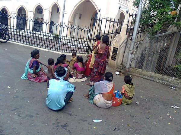 Indian beggars who make lakhs of rupees
