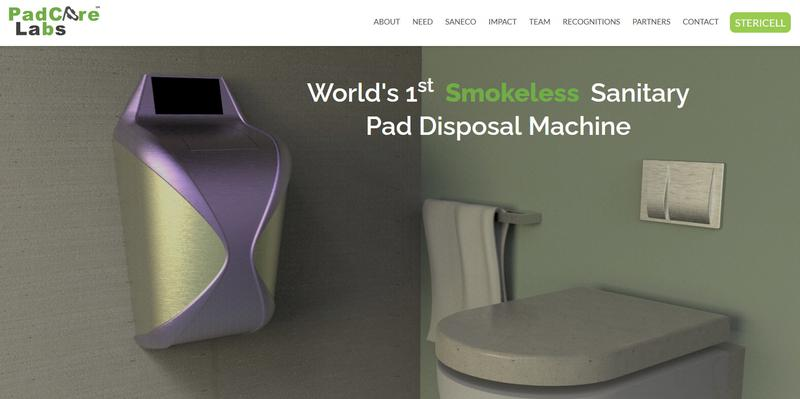Pad Care Labs provides eco-friendly sanitary pad disposal system