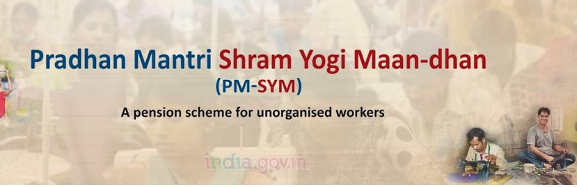 PM Shram Yogi Maan-dhan scheme for unorganised workers
