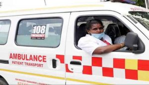 India's first woman ambulance driver