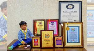 Hyderabad toddler holds World Record for his sharp memory