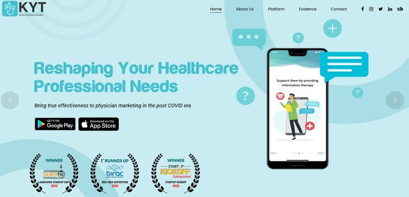 KYT Adhere helps patients take prescription drugs on time