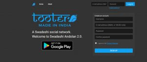 Tooter - The Indian version of Twitter