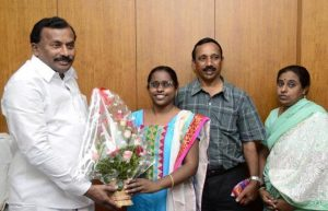Beno Zephine, India's first visually challenged IFS officer