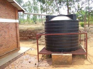 Elderly man develops low-cost rainwater harvesting system