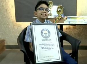 6-year-old Youngest Programmer holds Guinness World Records