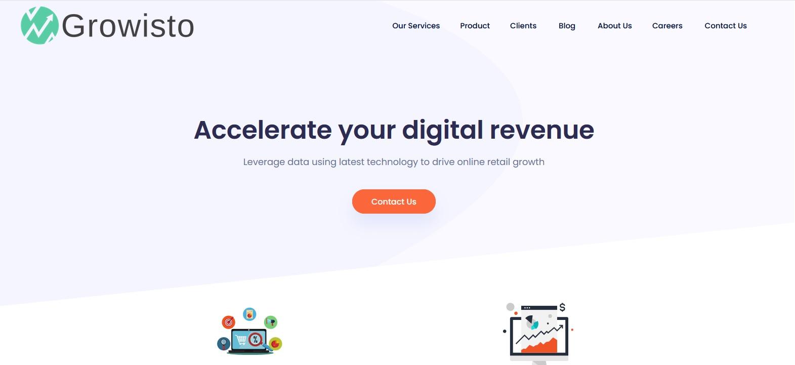 Growsisto helps improve your digital revenue