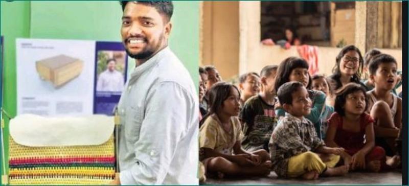 Bengaluru youth designs innovative bag-cum-desk