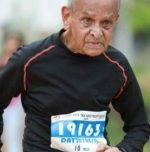 92-year-old inspires youth by setting to run TCS World 10K