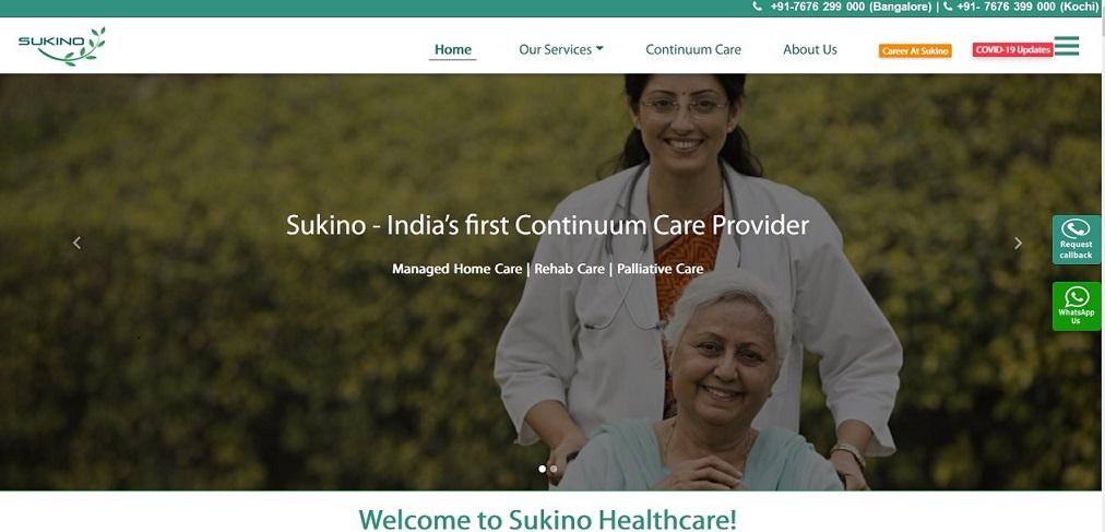 Sukino Healthcare provides continuum healthcare solutions