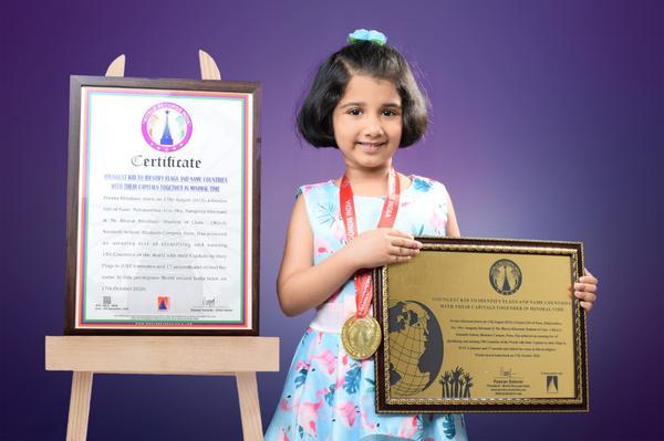 Child Prodigy sets world record with extraordinary memory