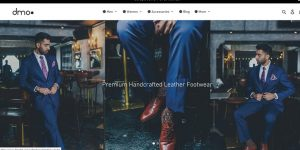 Dmodot offers handcrafted leather footwear