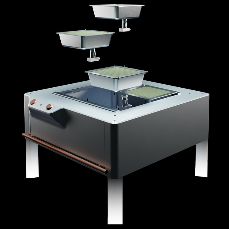 Flameless stoves reduce carbon emissions