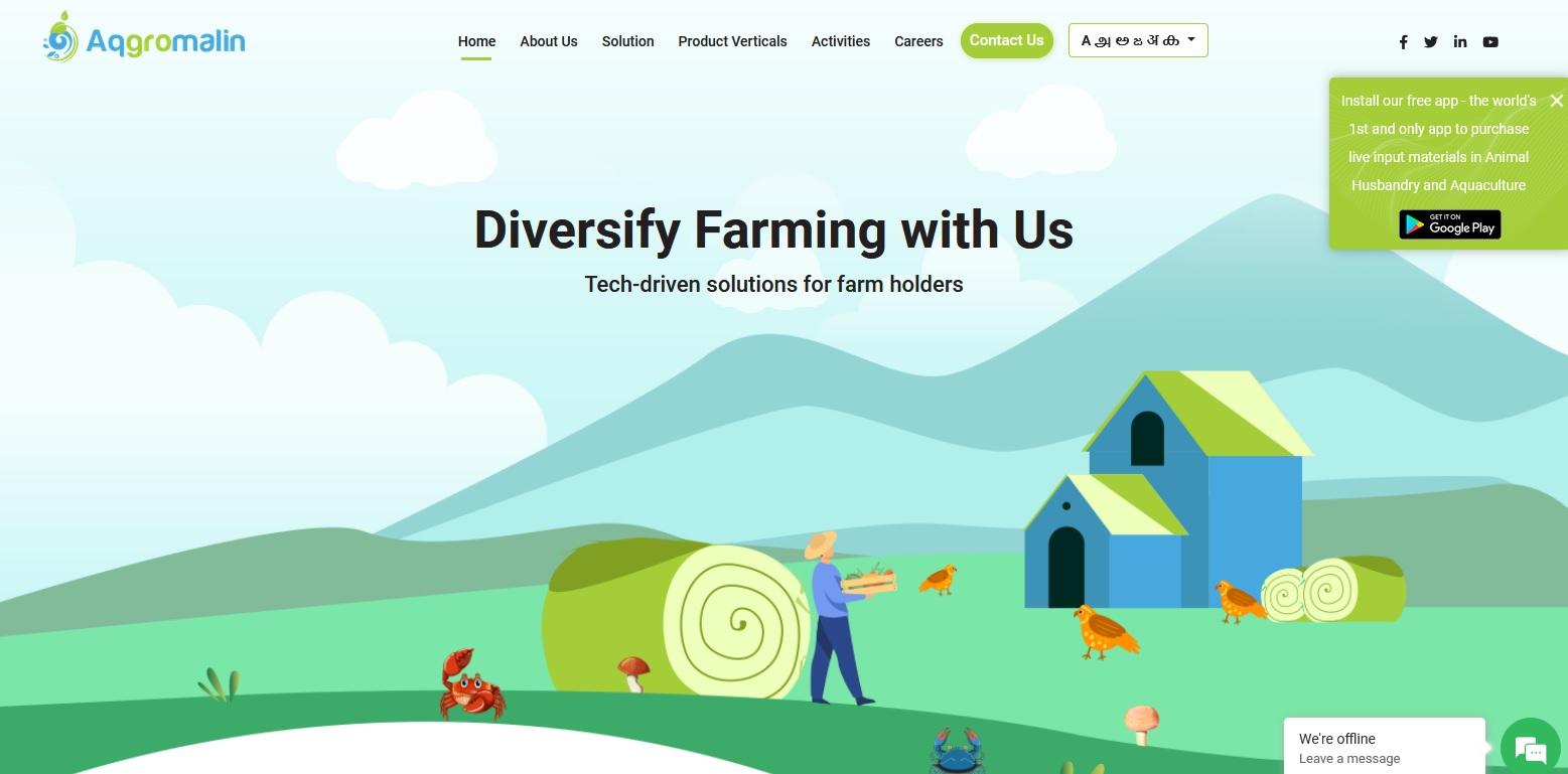 Aqgromalin aims to improve farmers' income