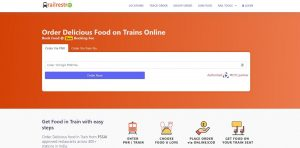 RailRestro provides fresh and quality food to train passengers