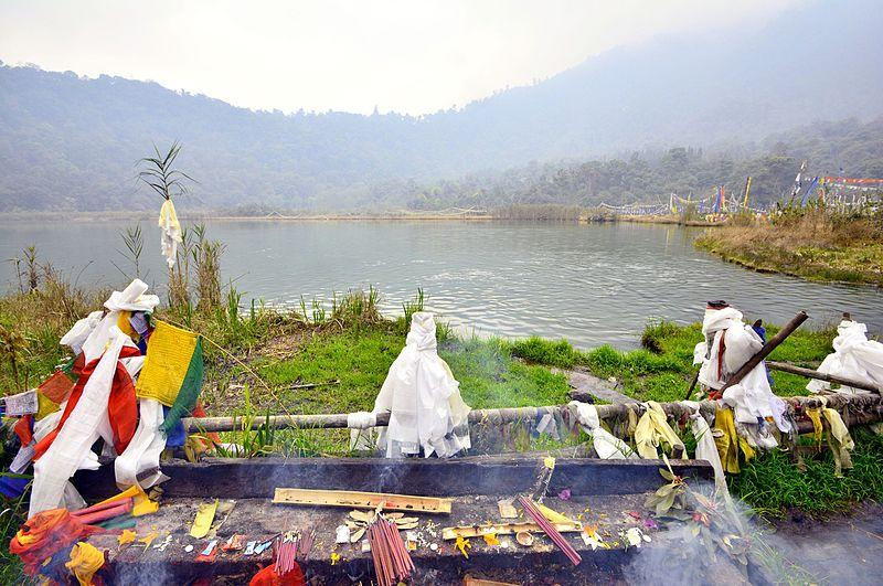 Khecheopalri Lake in Sikkim fulfils wishes