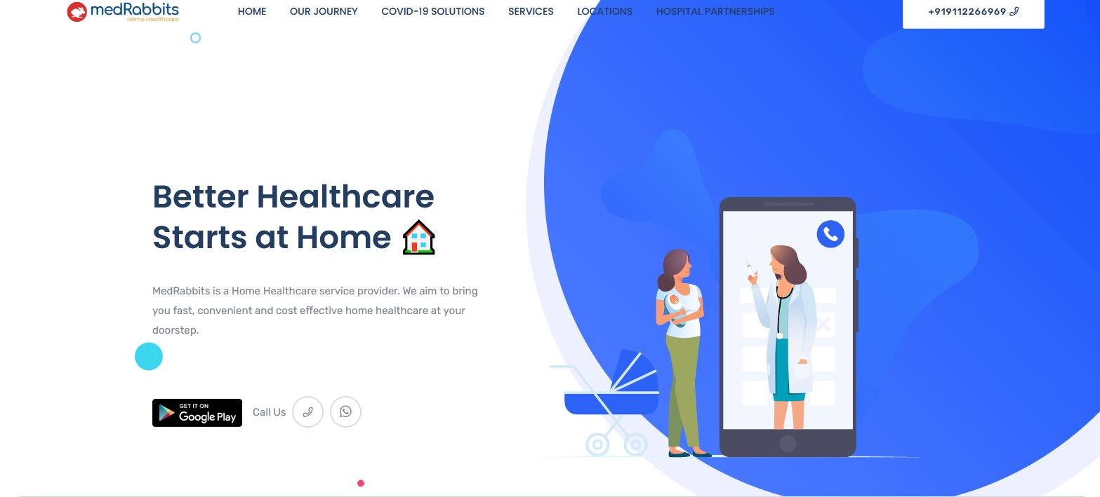 MedRabbits offers remote healthcare solutions