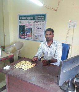 Telangana man makes eco-friendly pens