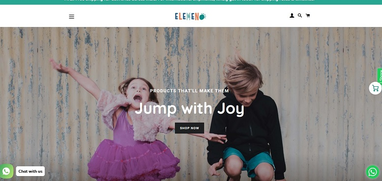 Elemeno Kids offers customized products to kids